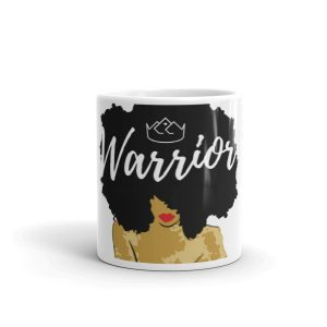 Black Diamond Crown - Crowned Warrior Mug